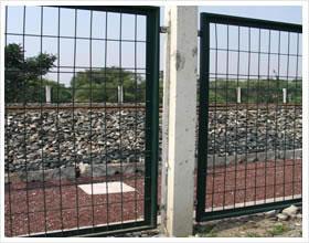 铁路防护栅栏